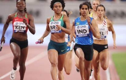 India mixed relay team finishes 7th at Athletics Worlds final