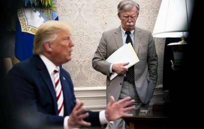 Donald Trump ousts John Bolton as National Security Adviser