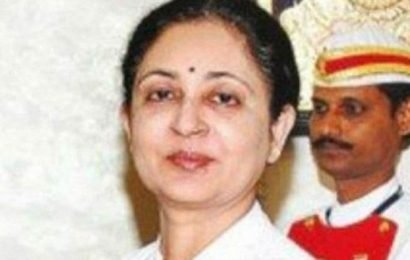 Resignation of Madras HC Chief Justice V K Tahilramani accepted by government