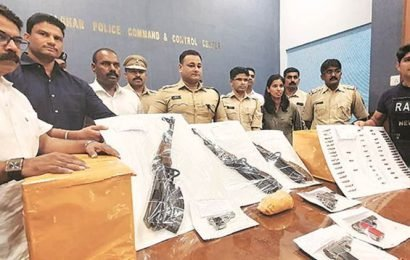 Mumbai: Police Drugs, weapons, ammo worth Rs 13 crore seized from dhaba