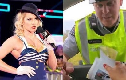 Incredible: WWE's Lacey Evans stays in character after being pulled over by Canadian police officer