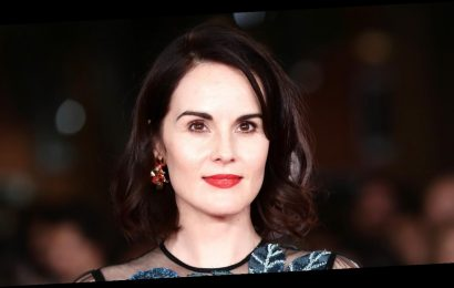 Michelle Dockery Goes Glam for 'Downton Abbey' Screening at Rome Film Festival