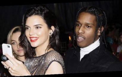 Kendall Jenner Wears Lingerie & Cozies Up To Rumored Ex A$AP Rocky In New Calvin Klein Ad — Watch