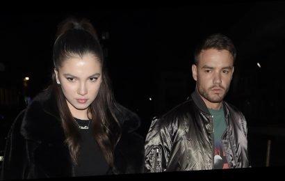 Liam Payne & Girlfriend Maya Henry Share Steamy Kiss in New Instagram Photo!