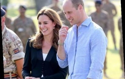 Kate Middleton and Prince William End Tour in a Royally Adorable Way