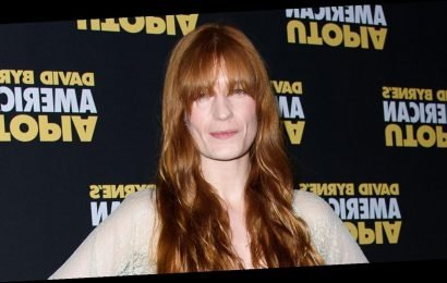 Florence Welch Dazzles in Silver for 'American Utopia' Opening Night of Broadway