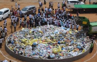 'Quit Plastic' rally sees a huge turnout in city