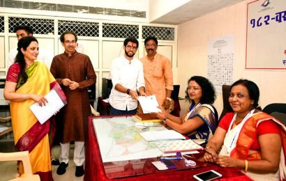 Excited & happy: Aaditya Thackeray files nomination from Worli