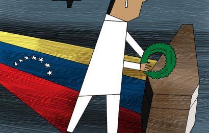 'In my grief, I blocked off Venezuela'
