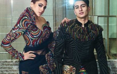Photshoot: Star sister poses with brother