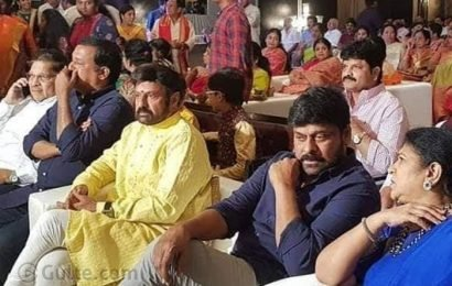 What! Balayya Did Not Attend Sye Raa Event?