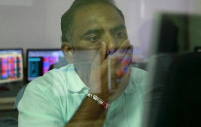 Sensex plunges 434 points post RBI policy; rate-sensitive stocks tank