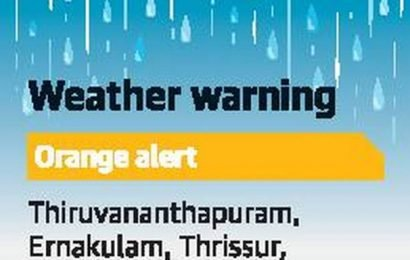 Heavy rainfall likely in State today