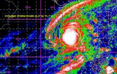 Cyclone 'Kyarr' intensifies; causes heavy rain in K'taka, Goa