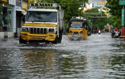 Heavy rainfall expected in 22 Tamil Nadu districts on October 31