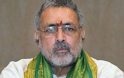 Giriraj fires fresh salvo at Nitish govt., JD(U) hits back