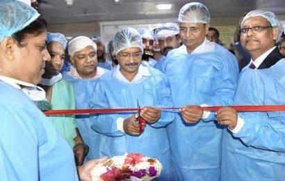 CM inaugurates open heart surgery facility at Rajiv Gandhi Hospital