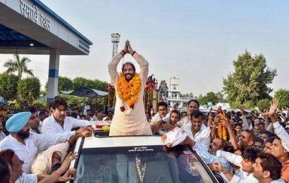 Congress slams BJP for accepting support of Haryana MLA Gopal Kanda
