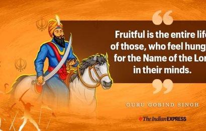Guru Gobind Death Anniversary: Inspiring quotes of the spiritual leader