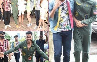 HouseFull 4 रिलीज़ से पहले Akshay Kumar समेत पूरी स्टारकास्ट ने लंच डेट पर की खूब मस्ती, देखें Photos