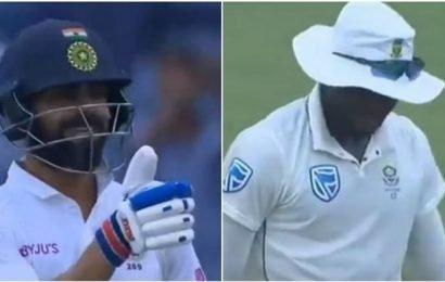 Watch: Virat Kohli trolls Kagiso Rabada for fielding effort
