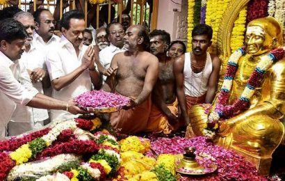 CM, leaders pay rich tributes to Muthuramalinga Thevar
