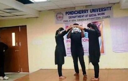Pondicherry University holds suicide awareness programme