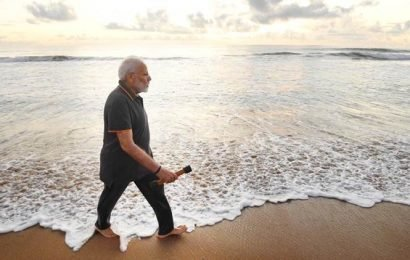 'Was lost in conversation with the sea': PM Modi pens poem after Mamallapuram visit
