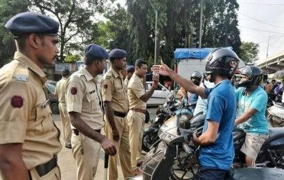 Heavy police deployment in Aarey Colony amid protests over cutting of trees