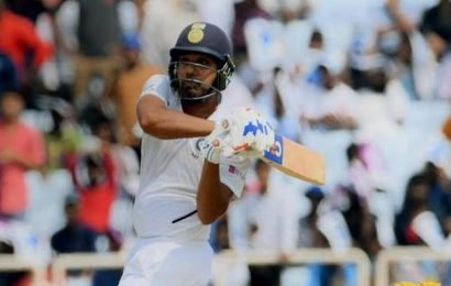 IND vs SA third Test: Rohit powers India before bad light and rain stops play