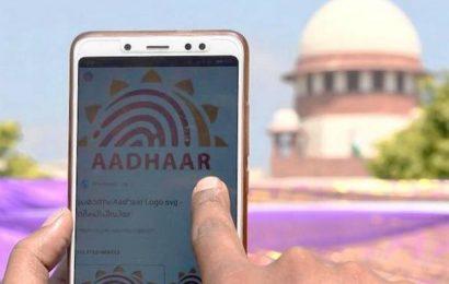 SC refuses to entertain plea seeking linking of Aadhaar with social media accounts