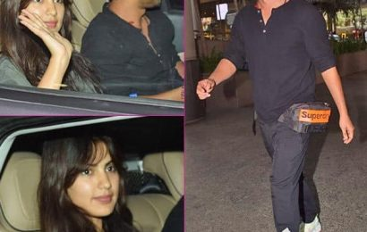 अफेयर की अफवाहों के बीच सुशांत सिंह राजपूत और रिया चक्रवर्ती एक ही कार में आए नजर, देखें वायरल Pics