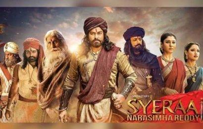 Sye Raa Narasimha Reddy 20 days Worldwide Box Office Collections