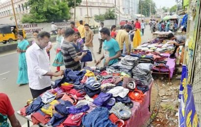 Deepavali shops are here, so are the rains
