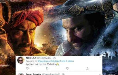 Tanhaji – The Unsung Warrior के पोस्टर्स देखकर उत्साहित फैंस बोले, 'Ajay सर ये फिल्म तो गर्दा उड़ा देगी…' | Bollywood Life हिंदी