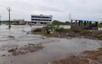 A.P. rain: Colonies in unauthorised layouts inundated in Vizianagaram