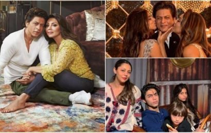 Happy birthday Gauri Khan: Her 10 pics with Shah Rukh, Aryan, Suhana, AbRam that prove no one does power mom like her