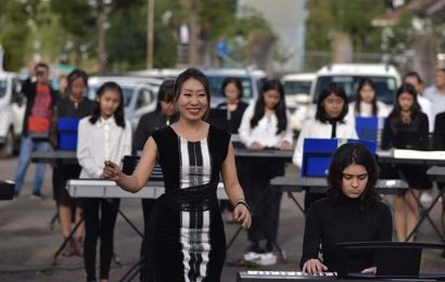 Amid uncertainty over Naga peace talks, pianists throng Kohima for India's biggest piano festival