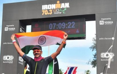 Ironman in city, army colonel makes Sangam proud