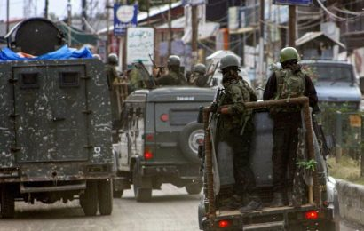 6 CRPF personnel injured in a terror attack in Srinagar