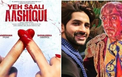 Amrish Puri's grandson Vardhan to debut with Yeh Saali Aashiqui, motion poster unveiled. Watch
