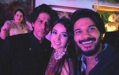Dulquer Salmaan was 'starstruck and gleefully happy' after meeting Shah Rukh Khan, see pics