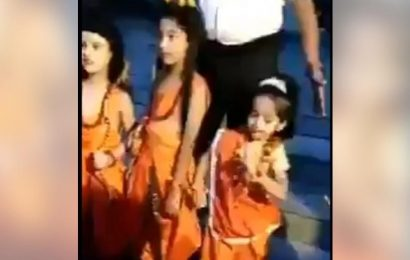 Little girl dresses up as Sita and does this. Adorable video wins Twitter