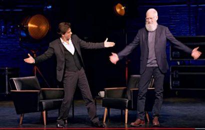 Meet David Letterman, the talk-show king who's interviewing King Khan