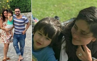 Kareena Kapoor spends time with son Taimur at his play date with cousin Inaaya Naumi Kemmu. Watch