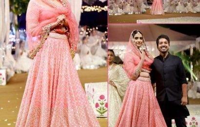किसी विरासत की राजकुमारी बन रैंप पर उतरी Sonam Kapoor, नजाकत से फैंस को बनाया अपना दीवाना