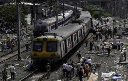 Mumbai train catches fire as man throws bag at overhead cables, services hit