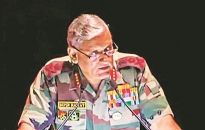 Army chief says PoK is illegally occupied, is run by terrorists