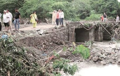Pune: Supporting piers of Wanowrie causeway damaged after rain