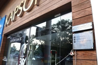 Kapsons showroom sealed in Chandigarh for building violations